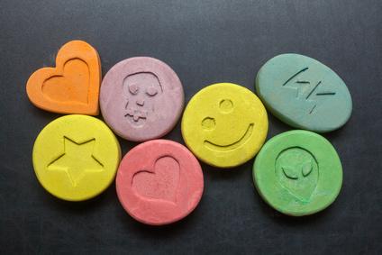 Ecstasy Tabletten und BTMG Verstoss